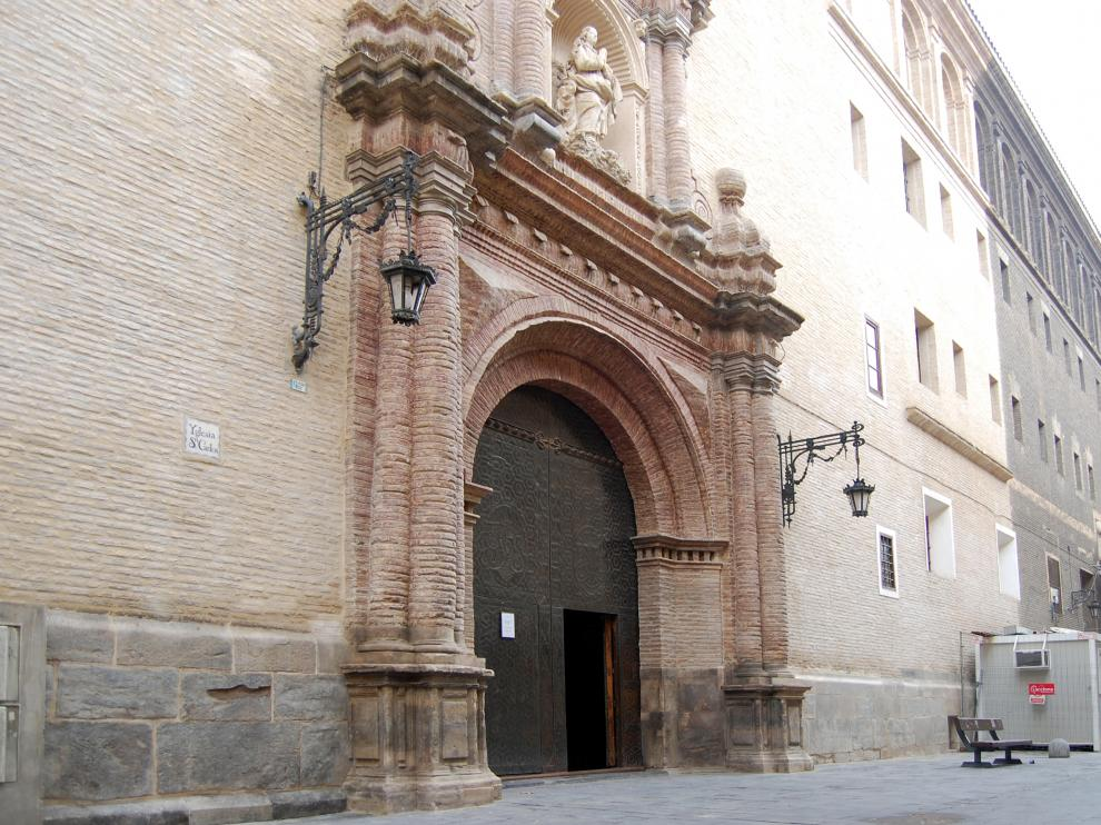 Iglesia de San Carlos, en Zaragoza, donde se celebra este concierto solidario.
