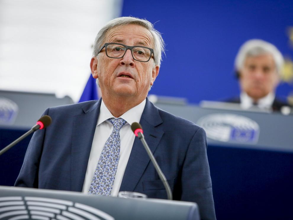 El presidente de la Comisión Europea Jean Claude Juncker