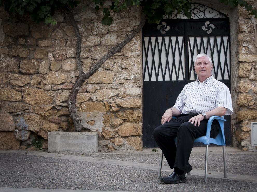 Jordi Romero, presidente de la Asociación Cultural Amigos de Josa.