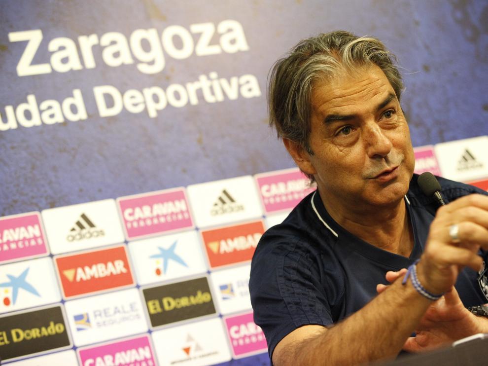 Rueda de prensa de Natxo González