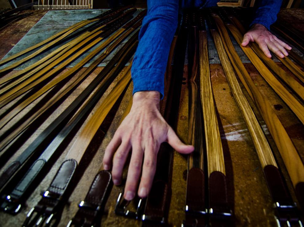 Cinturones de madera