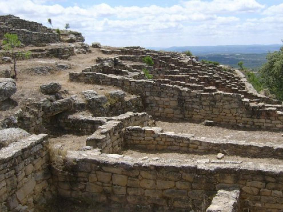 Yacimiento de San Antonio, en Calaceite.