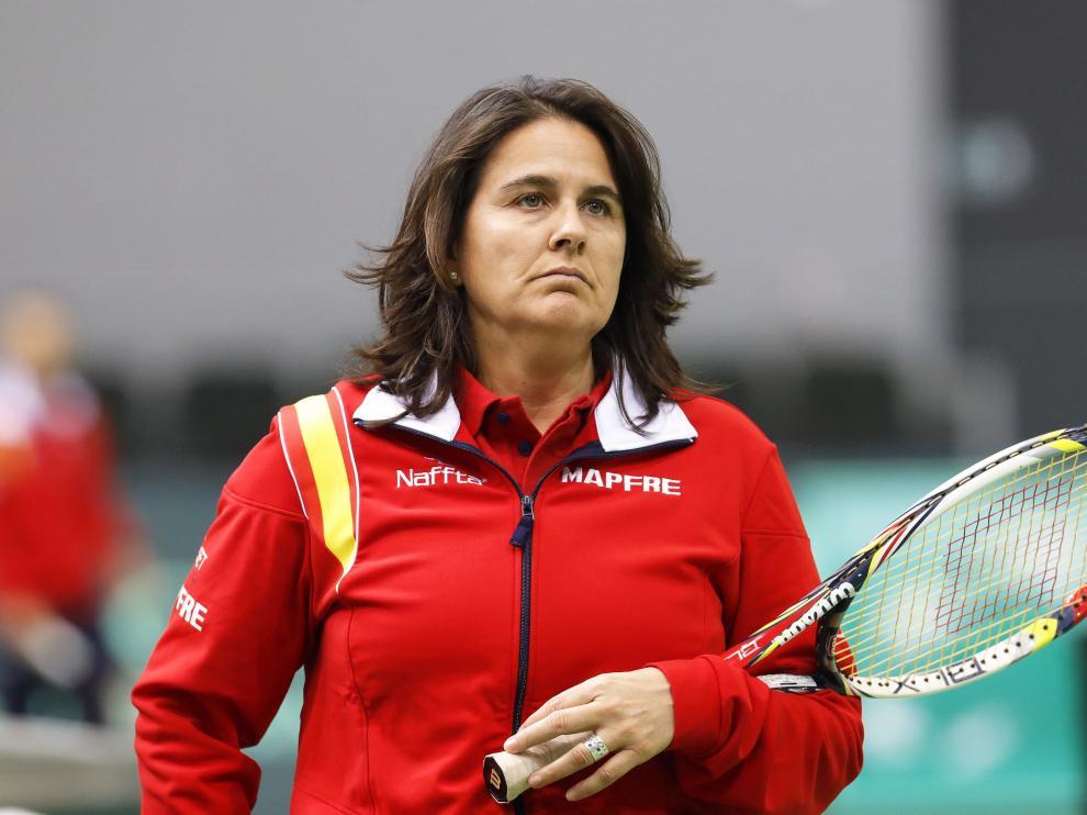 Conchita Martínez, en imagen de archivo.