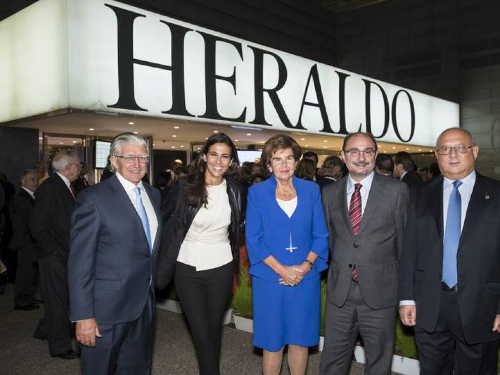 Ana Pastor, en la entrega de los premios Heraldo.