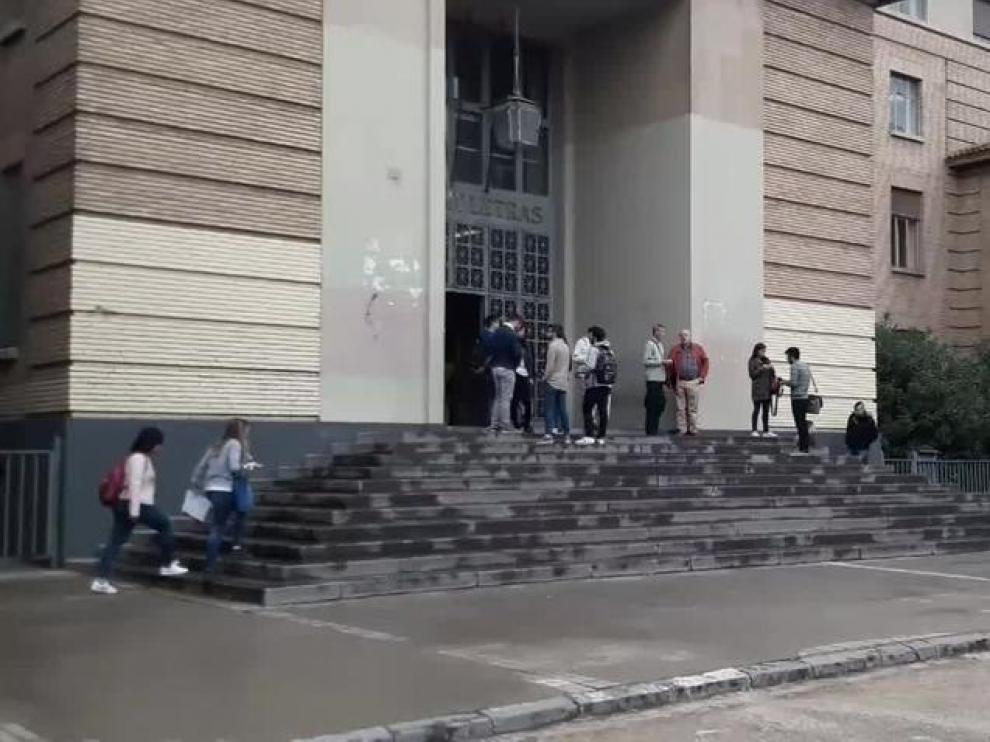 En Zaragoza, la muestra corresponde a alrededor de 340 jóvenes.