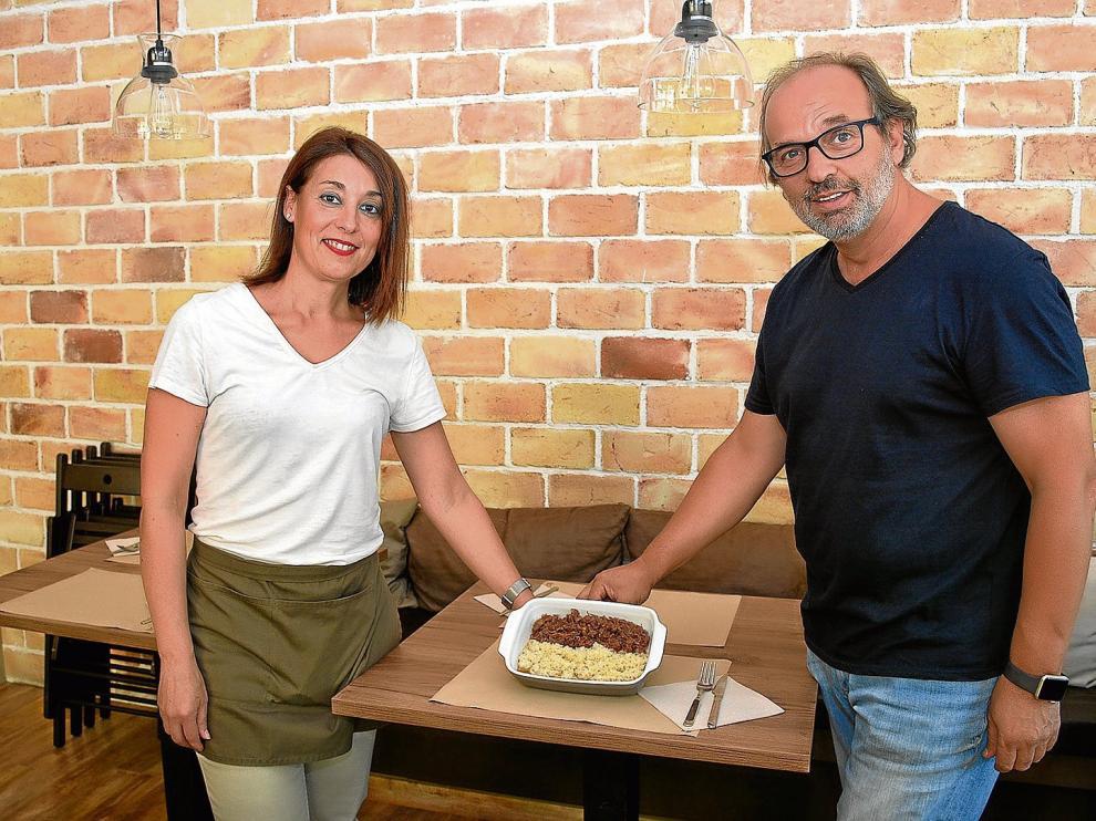 Elena Vicente y Gino Sella de Il Buco.