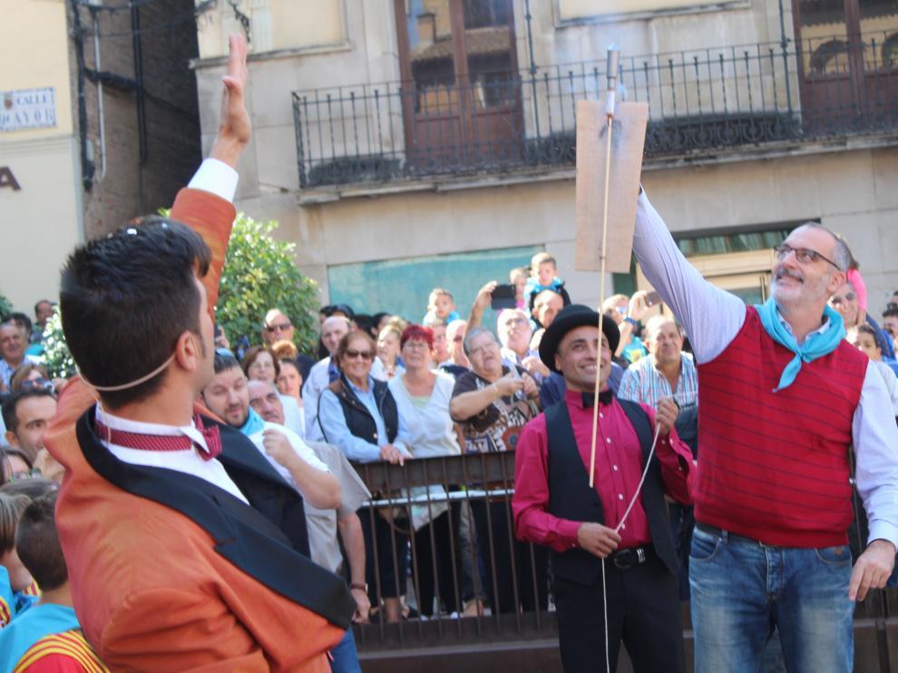Las calles de Monzón se llenan para celebrar las fiestas