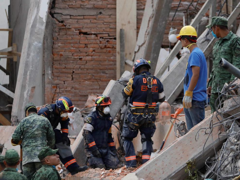 Un potente terremoto volvió a sacudir México.