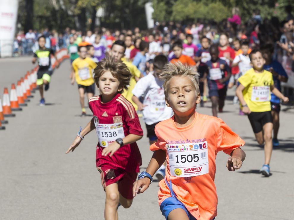La Carrera de los Niños alcanzará el domingo su XII edición