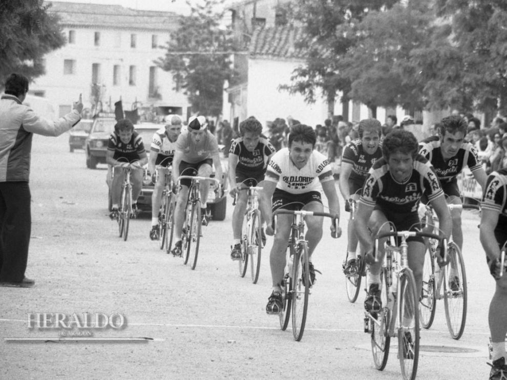 La Vuelta a Aragón, una carrera de ilustres campeones.