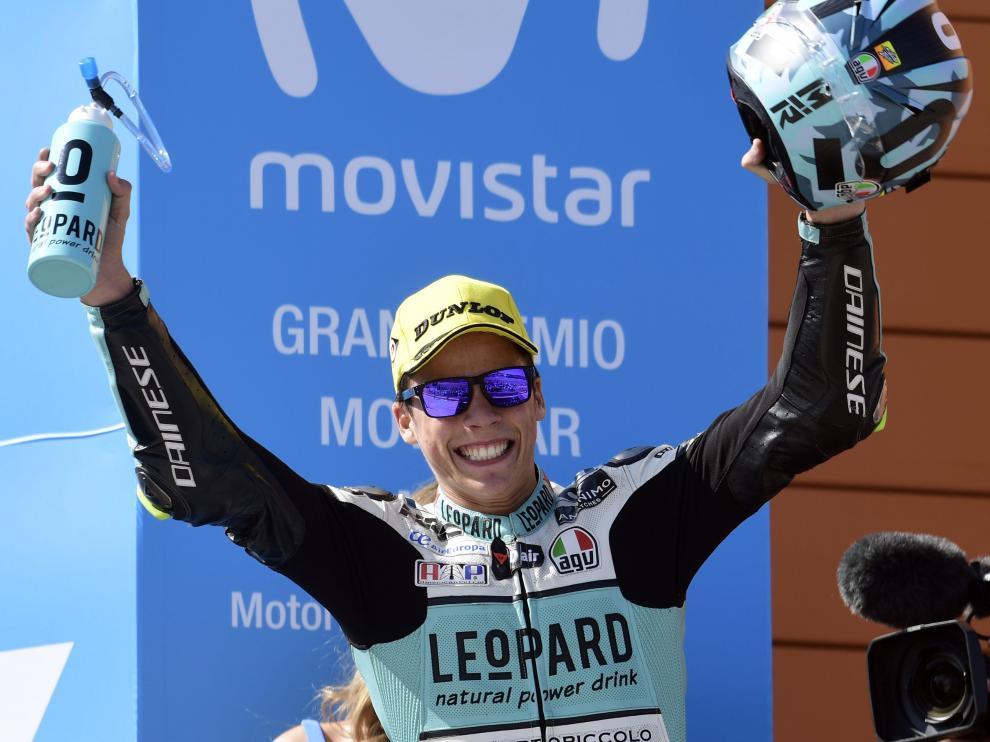 Joan Mir, más cerca del título de Moto3.
