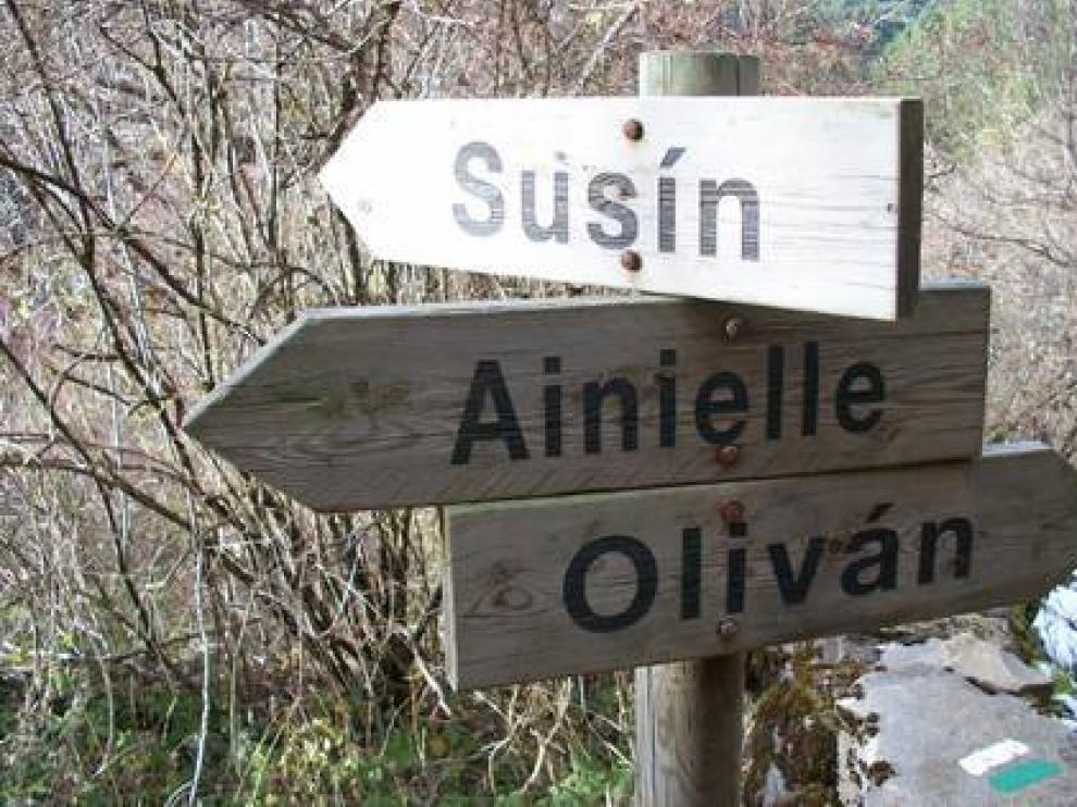 Ainielle es un pueblo abandonado del prepirineo oscense.