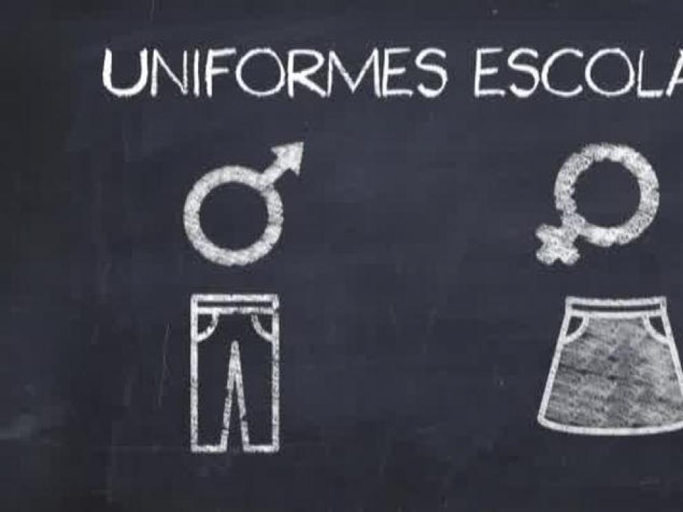 Podemos pide que las niñas puedan elegir si quieren falda o pantalón en el uniforme escolar