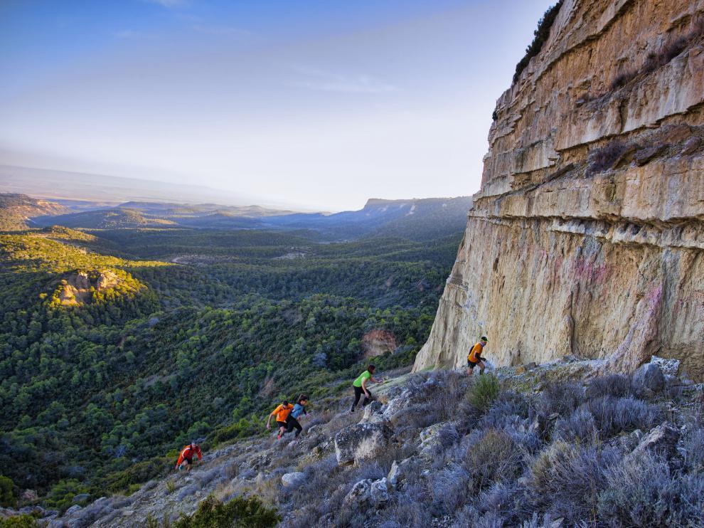 Las Bardenas Reales ofrecen magníficas formaciones rocosas y parajes de gran belleza natural.