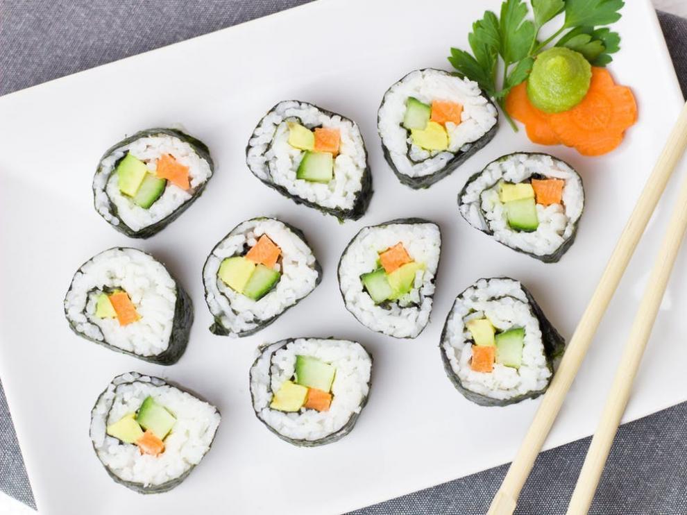 El nori maki, junto al nigiri, es la variedad favorita de los consumidores occidentales.