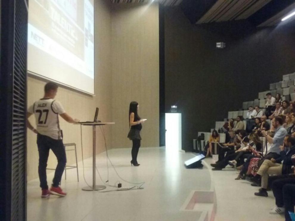 Inauguración del foro Talentic en Etopia.