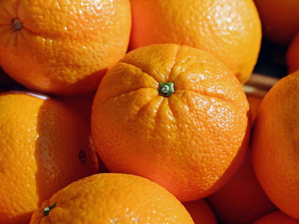 La mercancía declarada eran naranjas.