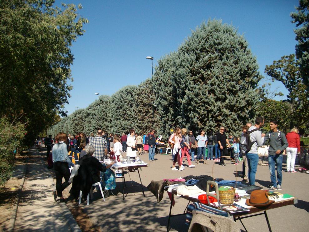La III edición congregó en el parque José Antonio Labordeta a 300 personas.