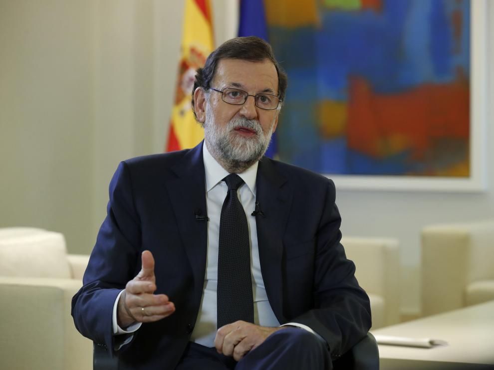 """""""La mejor solución, y creo que eso lo compartimos todos, es la vuelta a la legalidad"""", ha apuntado Rajoy."""