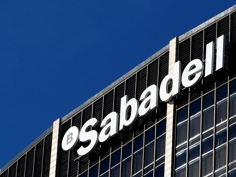 La sede del Banco Sabadell en Barcelona.