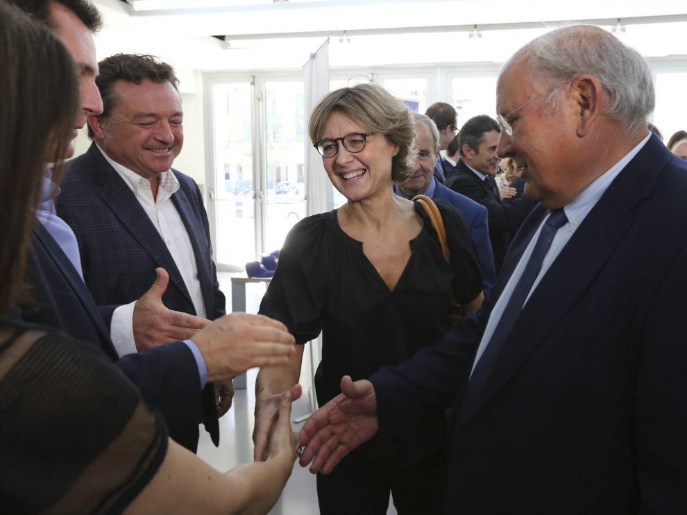 Visita de la ministra de Agricultura a Huesca