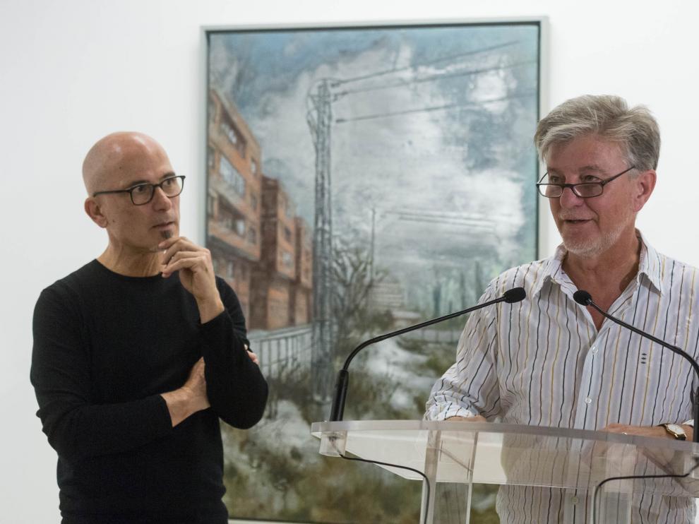 Exposición de Ignacio Fortún en La Lonja