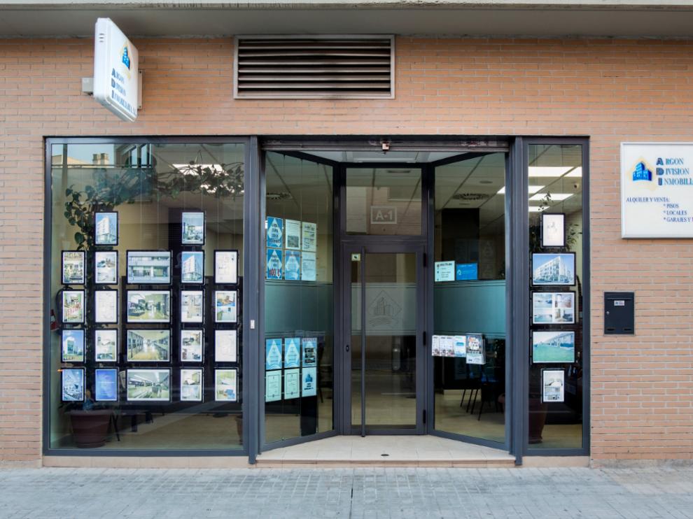 Sede de Argón División Inmobiliaria en Utebo.