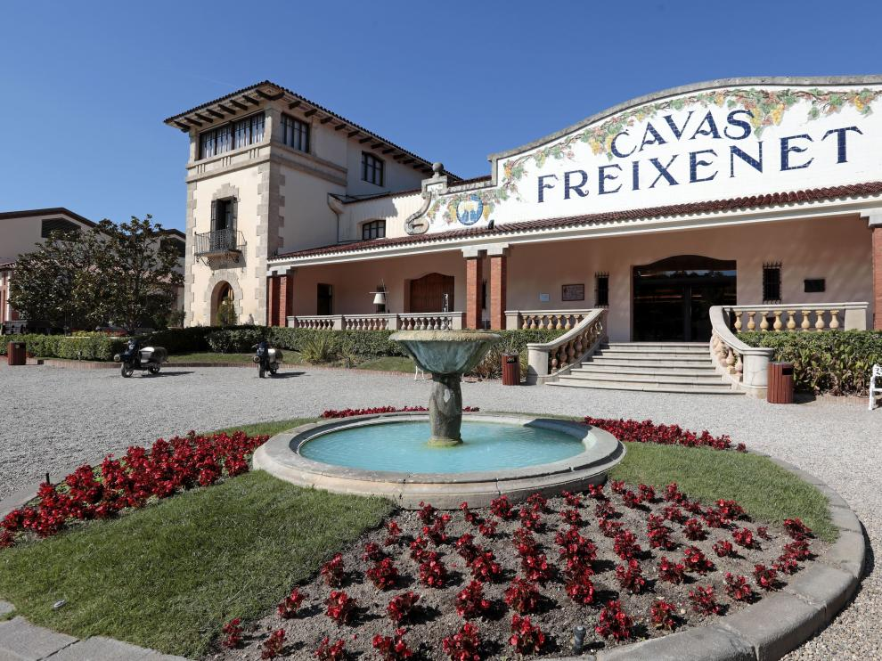 La sede actual de Freixenet, en Sant Sadurni d'Anoia.