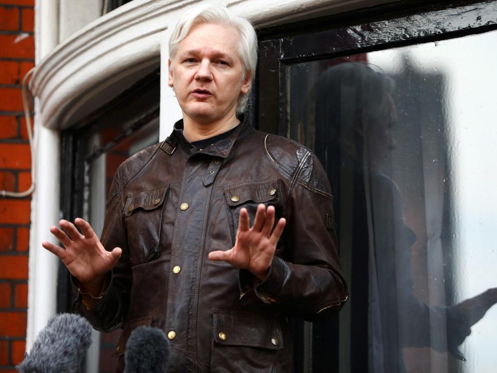 Assange habla tras el cierre de la investigación por la supuesta violación