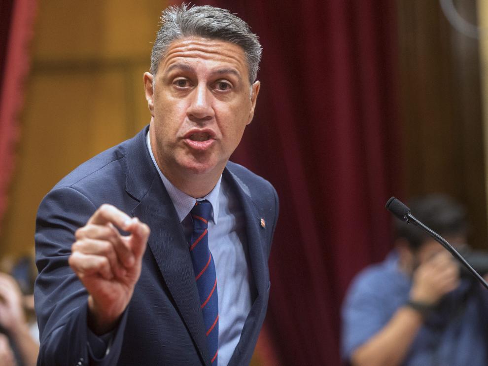 García Albiol, en el Parlament.