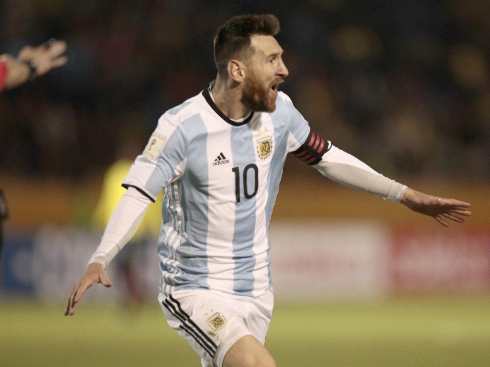 Messi no marcaba más de un gol en un partido de eliminatorias desde 2013, a Paraguay.