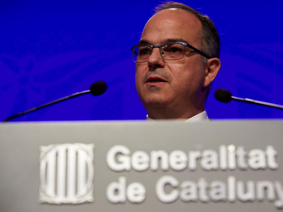 El consejero de Presidencia y portavoz de la Generalitat, Jordi Turull.