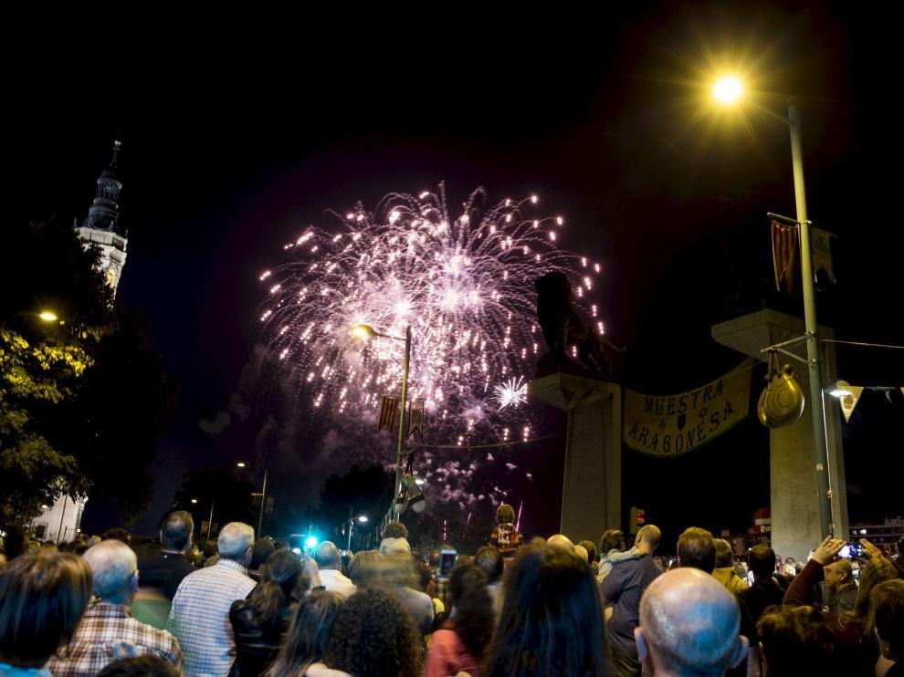 Fuegos artificiales fin de fiesta 2017