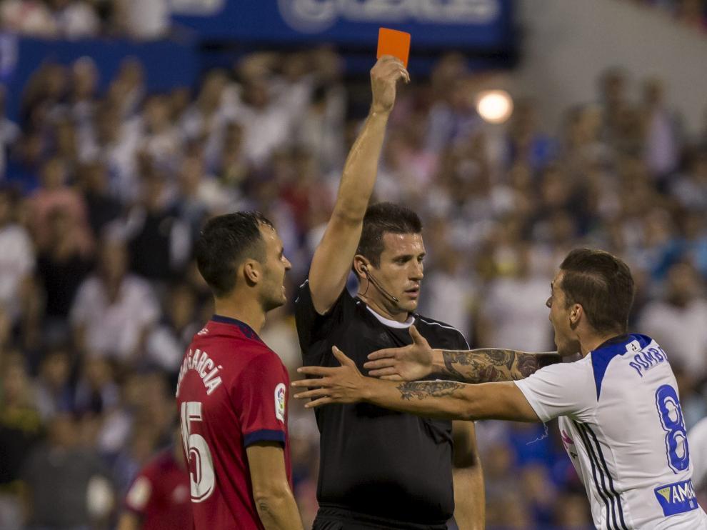 Instante en que Díaz de Mera expulsa a Pombo.