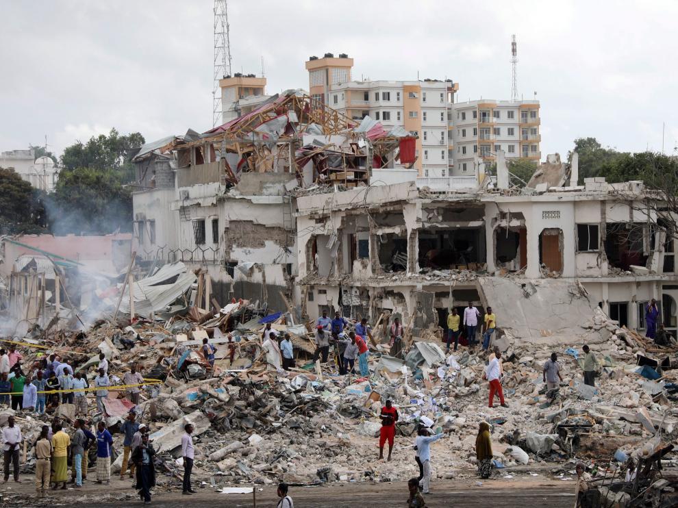 Se trata del mayor atentado terrorista ocurrido en Somalia.