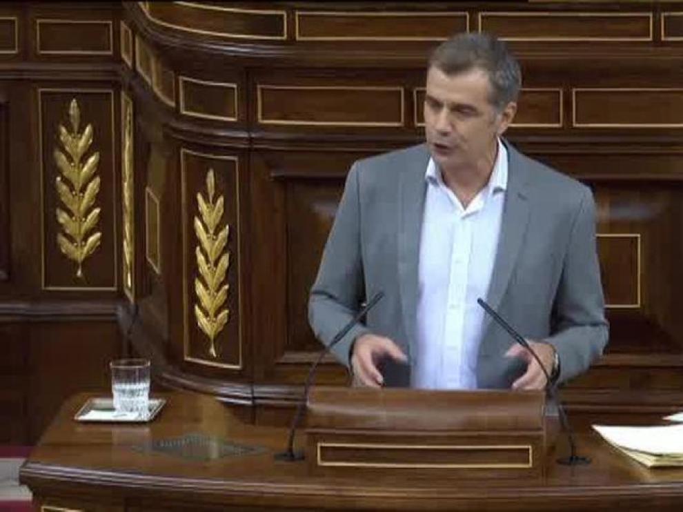 Toni Cantó, presidente de la Comisión Anticorrupción de la Cámara.