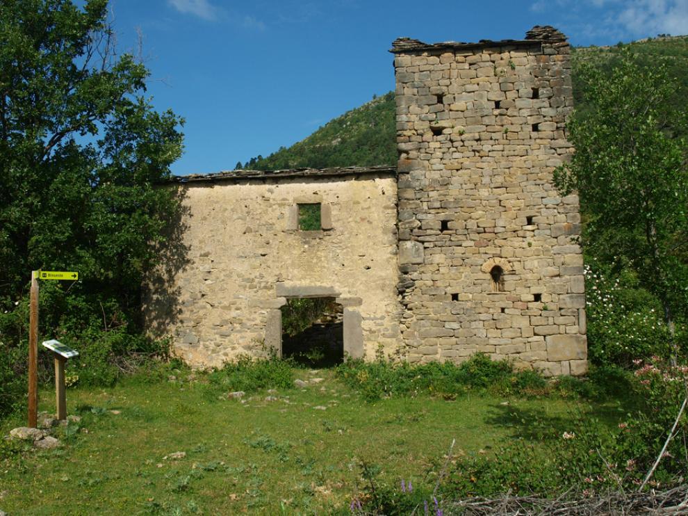 La Pardina de Bibán, incluida en la Lista Roja del Patrimonio