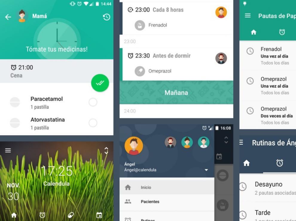 Una app que ayuda a tomar correctamente la medicación