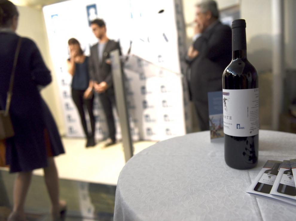 Acto de presentación del vino amigo de Atades Huesca