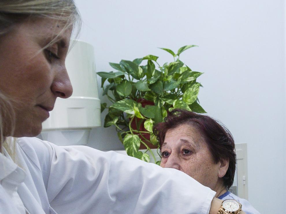 Imagen de archivo de la campaña de vacunación de la gripe.