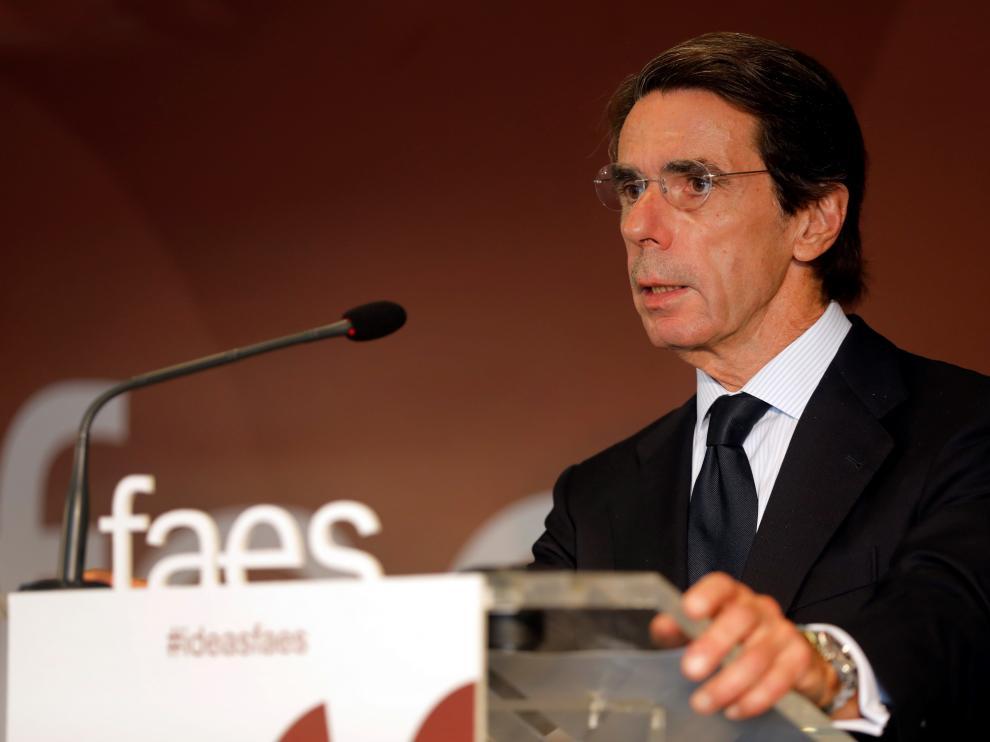 Aznar, en una foto de archivo.