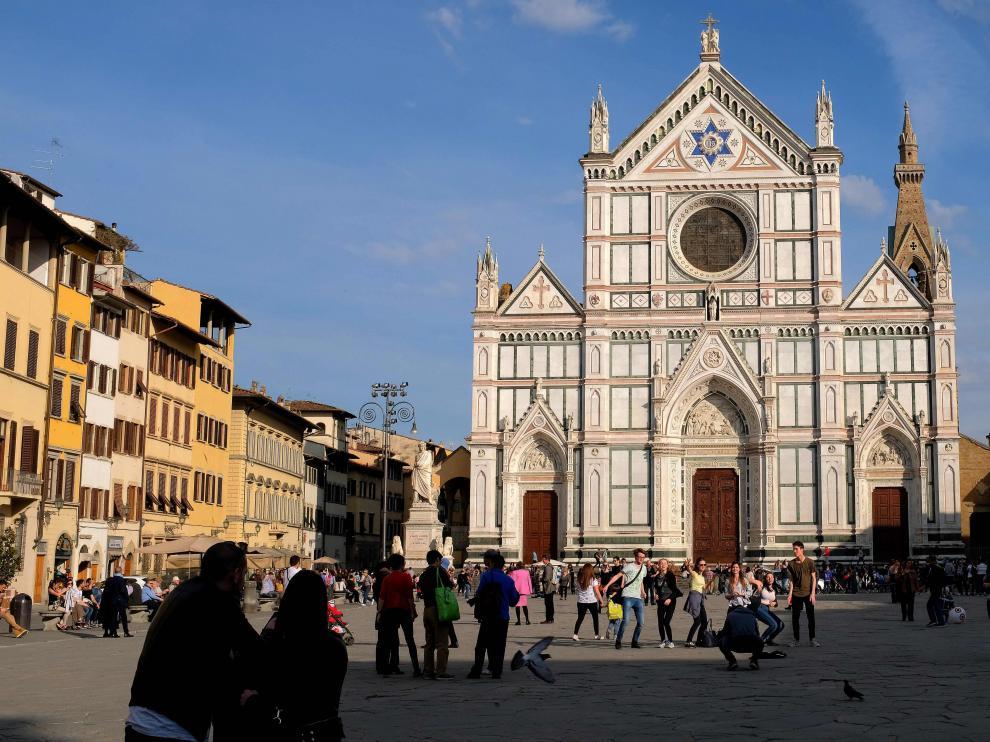 Basílica de Santa Croce, Florencia.