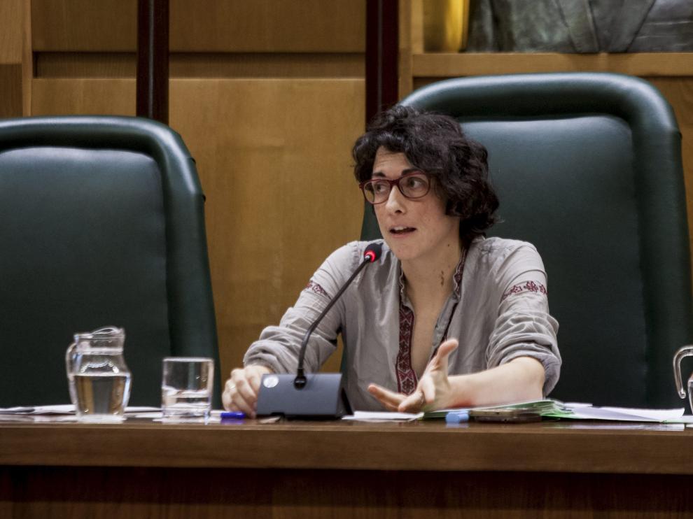La concejala de Participación, Elena Giner