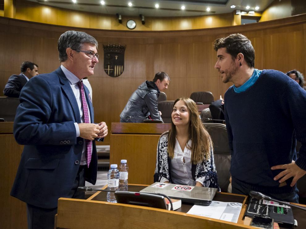 Antonio Torres, en el pleno
