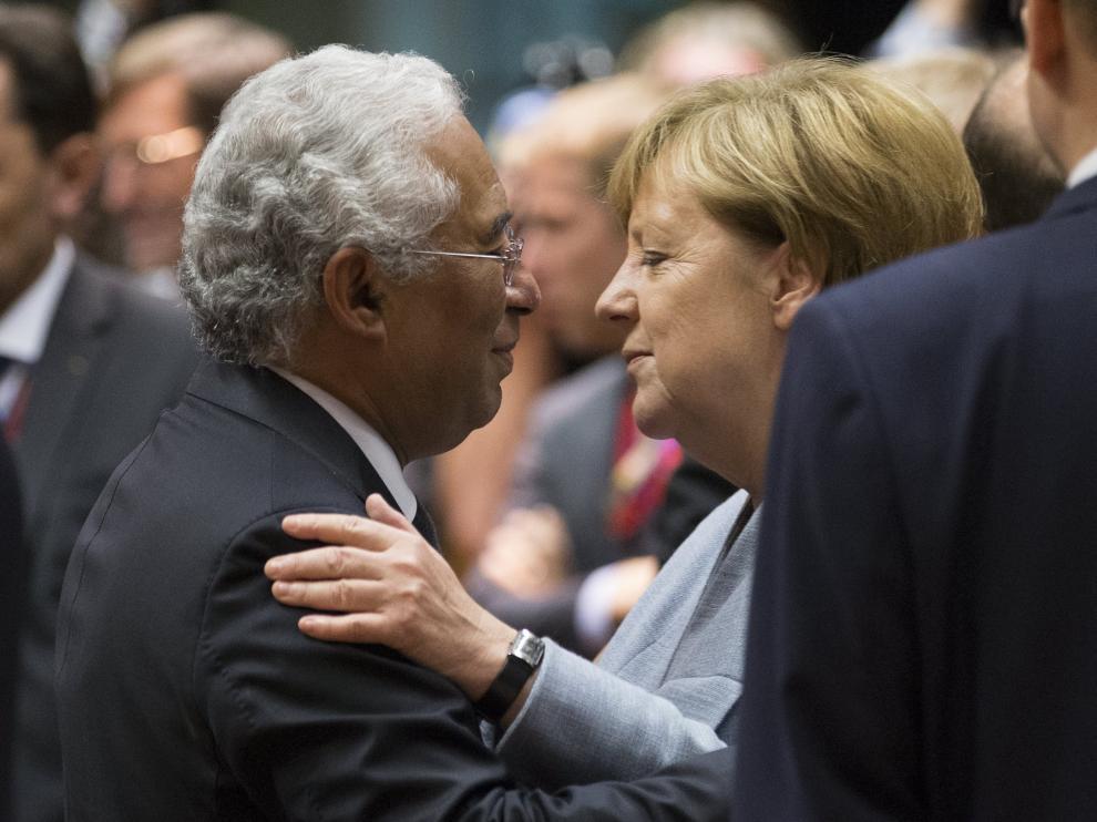 Merkel, en la cumbre