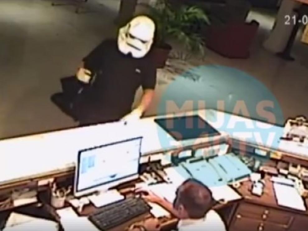 Captura de pantalla del vídeo difundido por Mijas Comunicación.