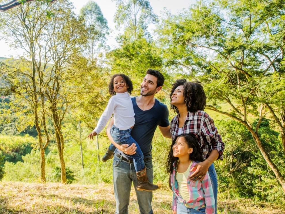 Hay que buscar la ruta adecuada a la edad y condiciones físicas del grupo.