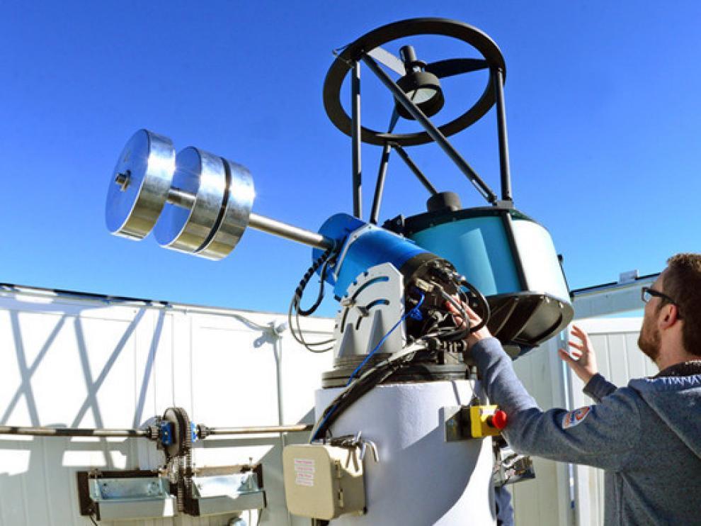 Telescopio robótico Javier Gorosabel, localizado en México