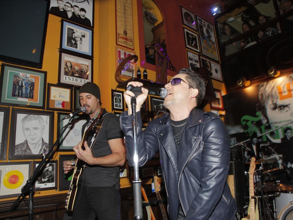 Encuentro internacional de fans de U2 en Teruel