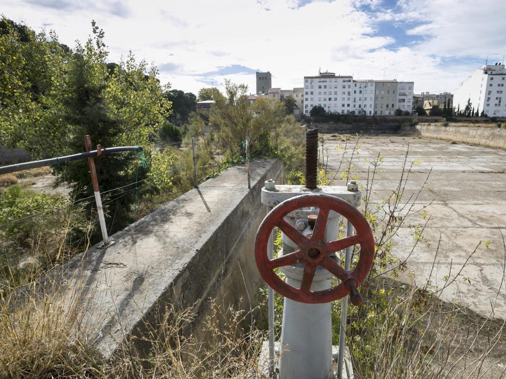 Los antiguos depósitos de agua del Parque Pignatelli